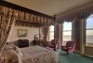 The Grand Hotel boasts 152 rooms, including 23 suites, 30 junior suites