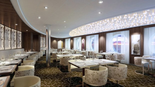 Celebrity Cruises Give First Look Into New Suite Class Restaurant - Luminae