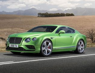 Exterior Evolution for the Continental GT