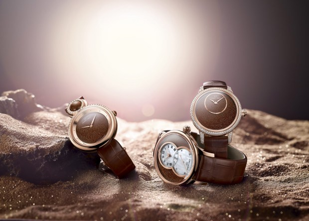 Jaquet Droz fills the early days of 2015 with light by unveiling a star-born aventurine: Sunstone.