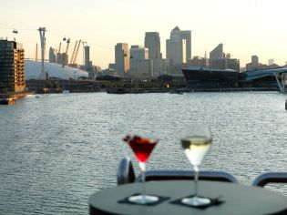 One of the biggest attractions of a stay here has to be the views across the Thames