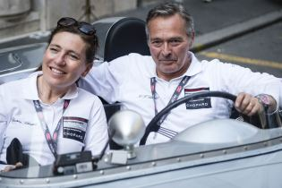 Karl-Friedrich and Christine Scheufele at Mille Miglia 2015
