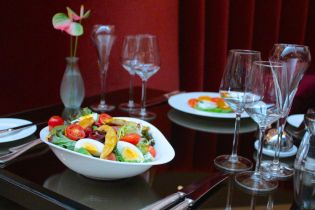 The Athenaeum Hotel restaurant has been awarded two rosettes for its cuisine