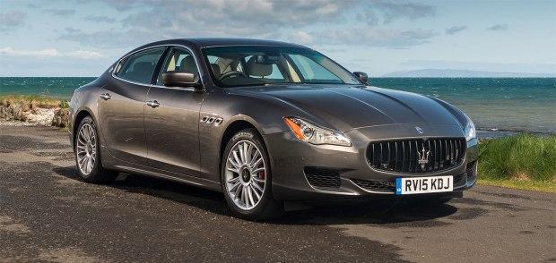 The Maserati Quattroporte GTS
