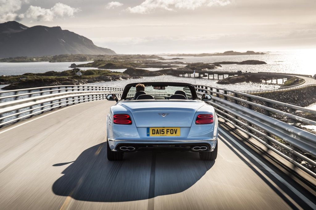 We Road-Test The All-New Bentley Continental GT Line-Up in Norway 4