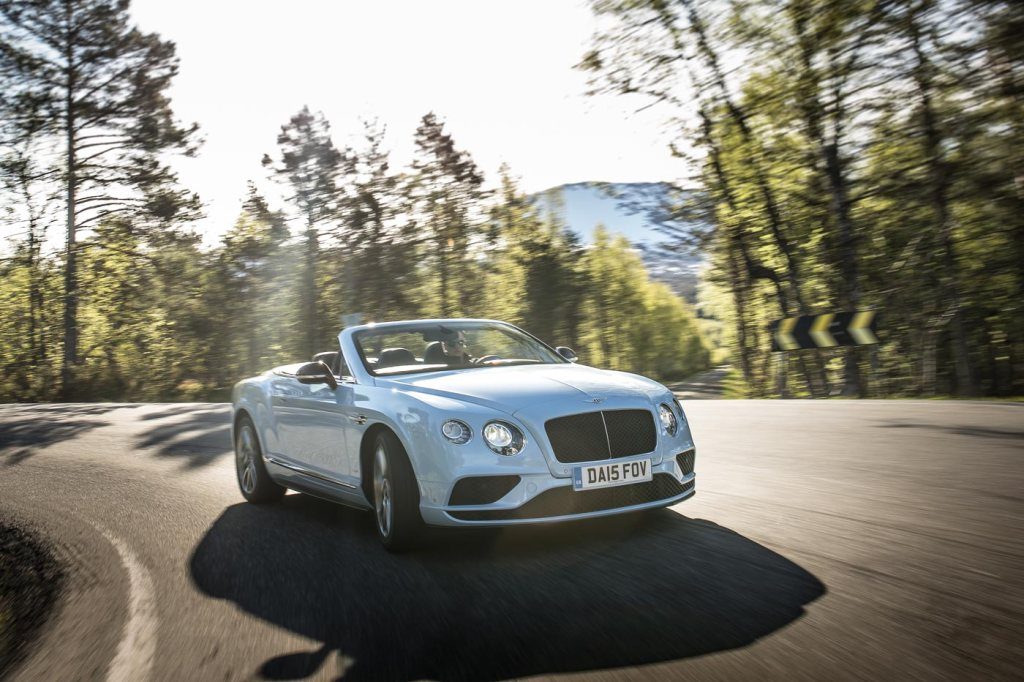 The Bentley Continental GT is just the most beautiful of cars