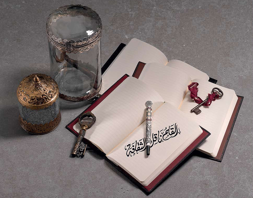 Montegrappa Calligraphy limited edition pen collection