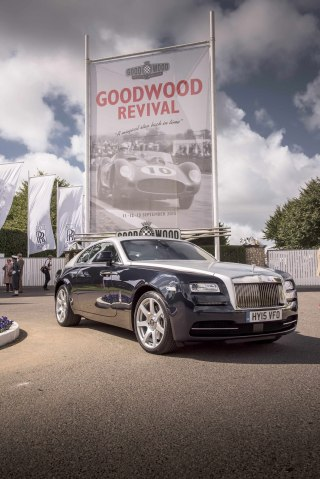 Rolls-Royce Motor Cars celebrated a record Goodwood Revival 2