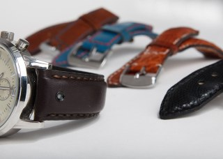 The uBirds Unique strap is available in a number of styles, colours and materials
