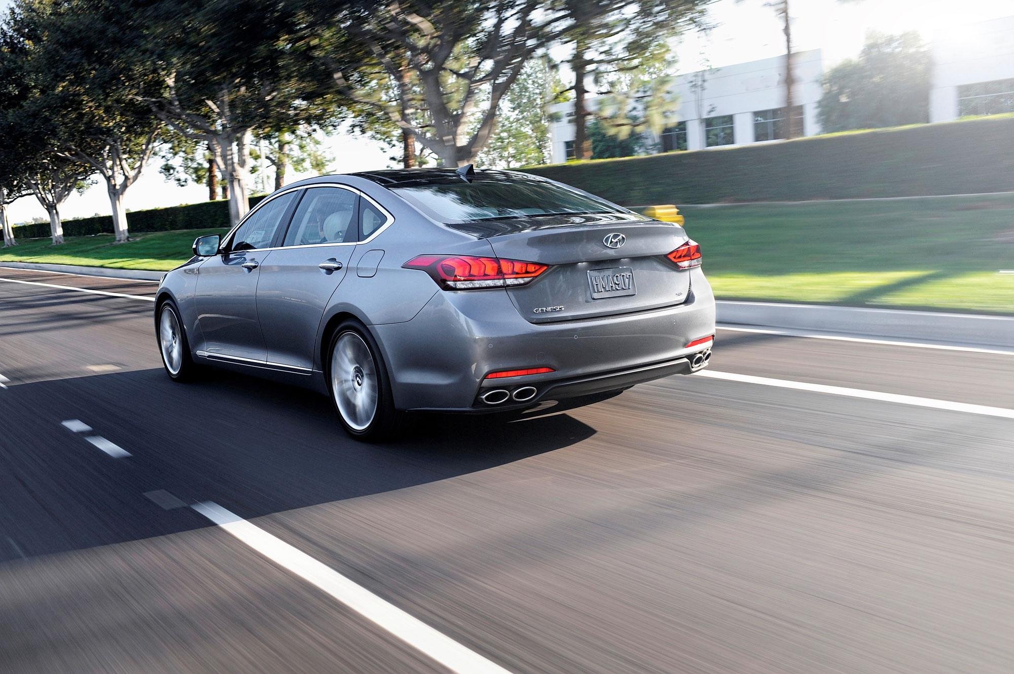 The ride of the 2016 Hyundai Genesis