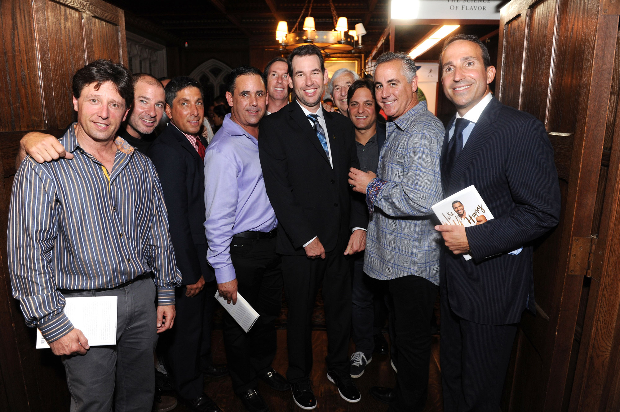 Doug Ellin and his 'Entourage' at Johnnie Walker launch of Joy Will Take You Further at The Explorers Club in New York