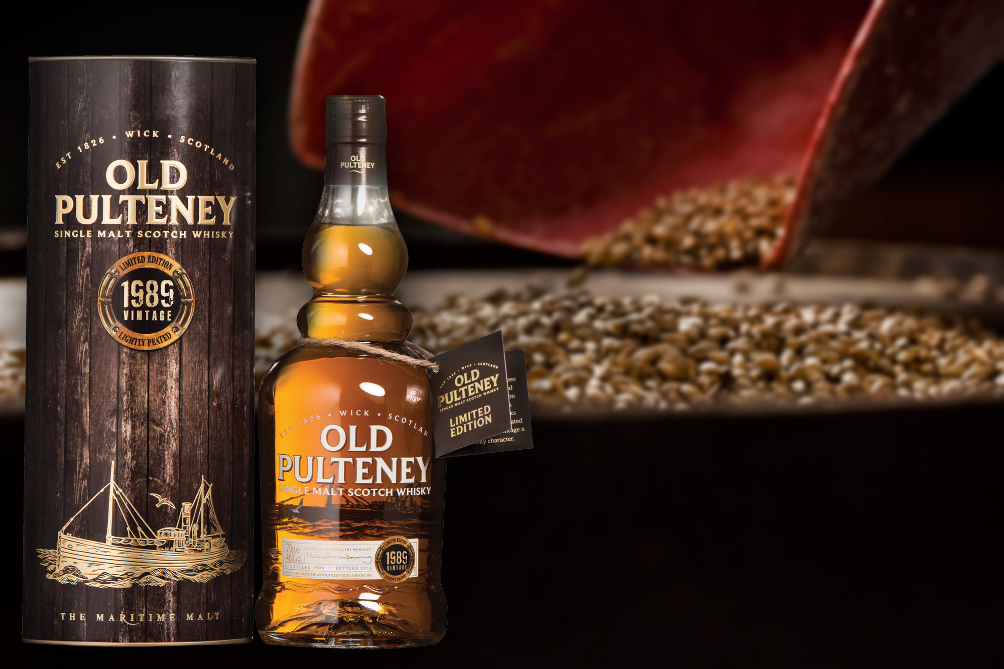 Old Pulteney Unveils Exceptional 1989 Single Malt Whisky