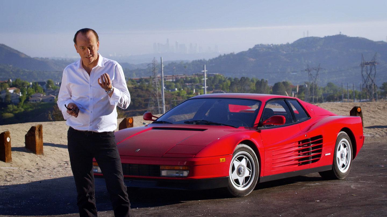 Classic Car Show executive producer and presenter Quentin Willson