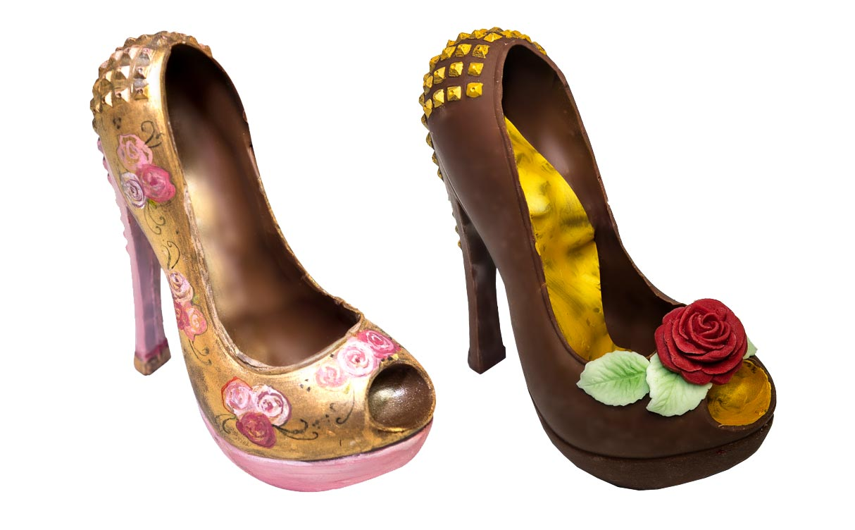 Handcrafted Chocolate Shoes And Handbags - A Perfect Gift This Xmas 4
