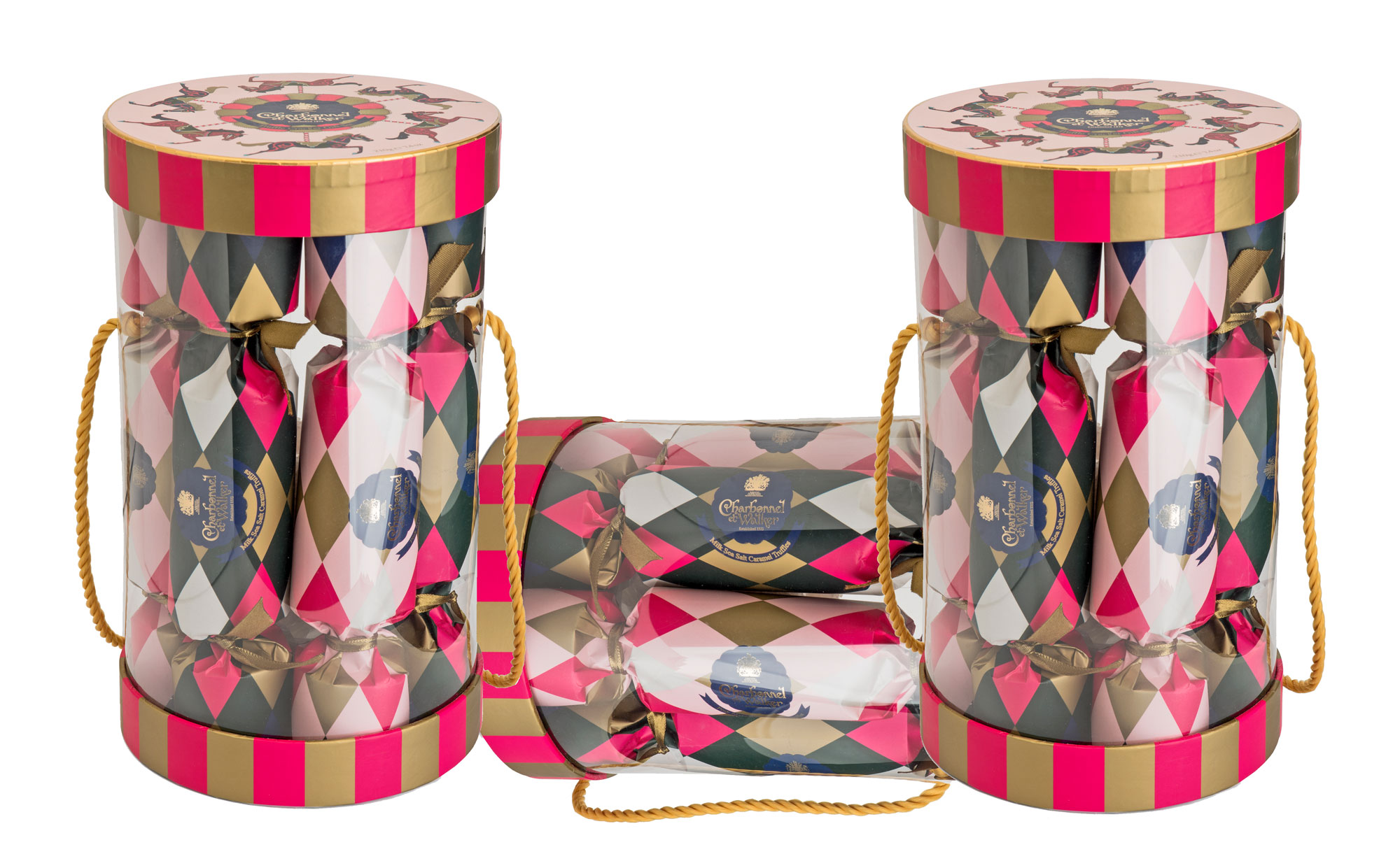 Charbonnel & Walker Christmas Cracker Drum