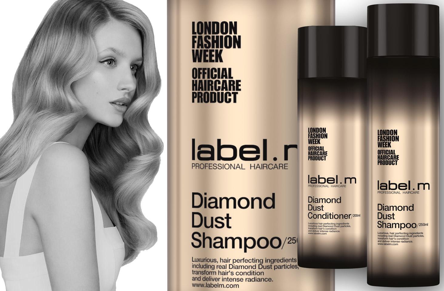 label.m Diamond Dust Shampoo & Conditioner