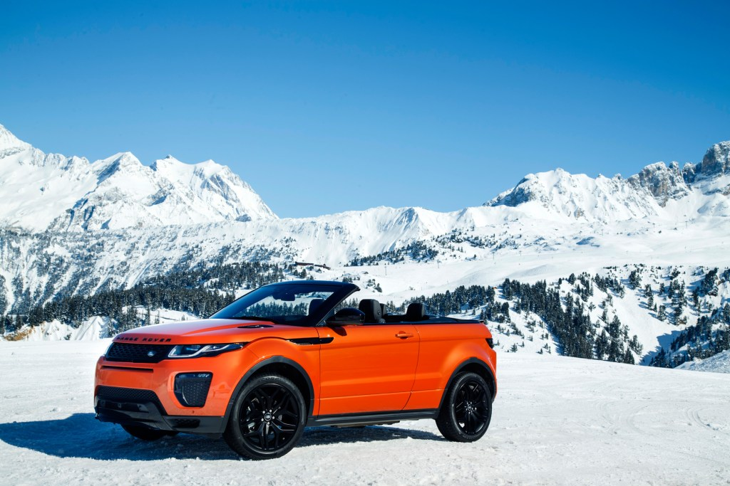Road Testing The New Range Rover Evoque Convertible 9