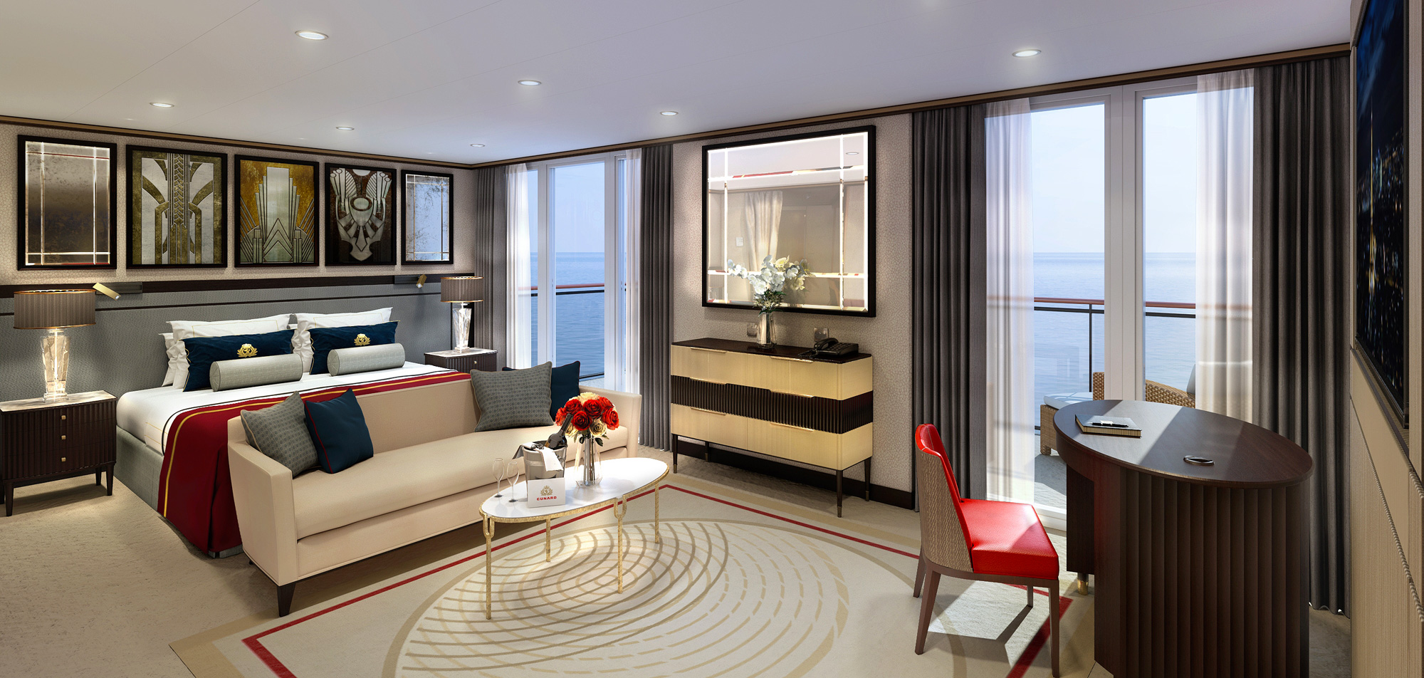 Cunard treats the Queen Mary 2 to a dazzling upgrade 4