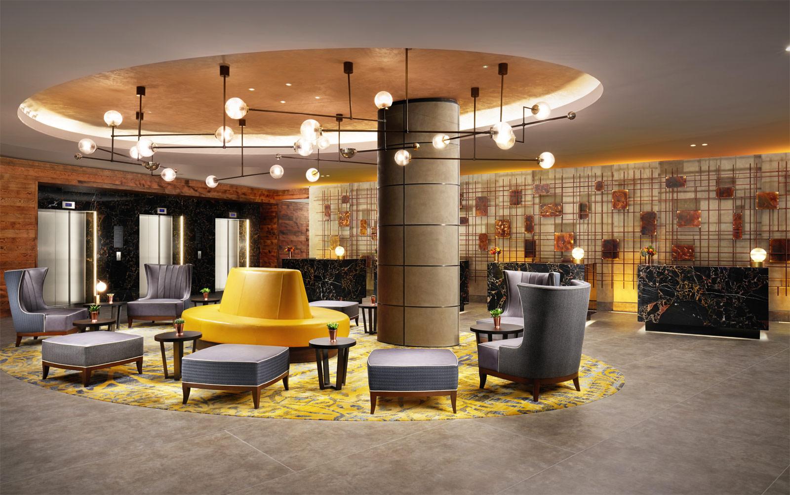 Hilton London Bankside Lobby