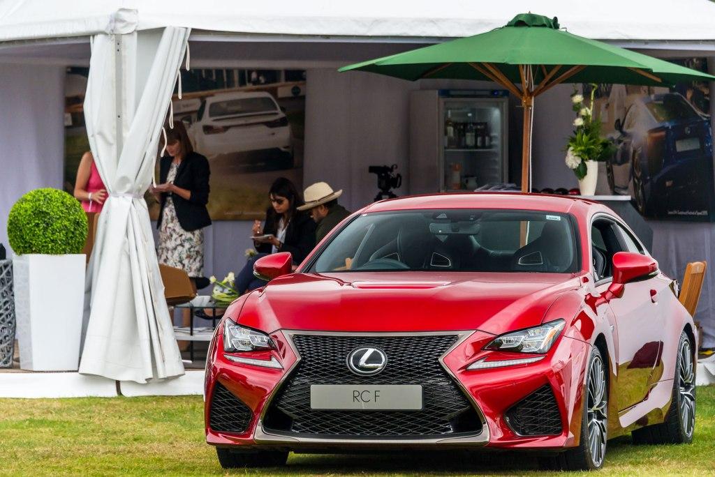 Lexus RC F at Salon Prive.
