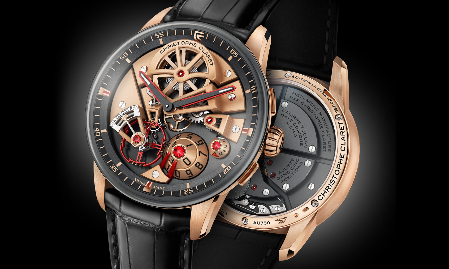 Christophe Claret's Maestro - A New Perspective On Mechanical Art