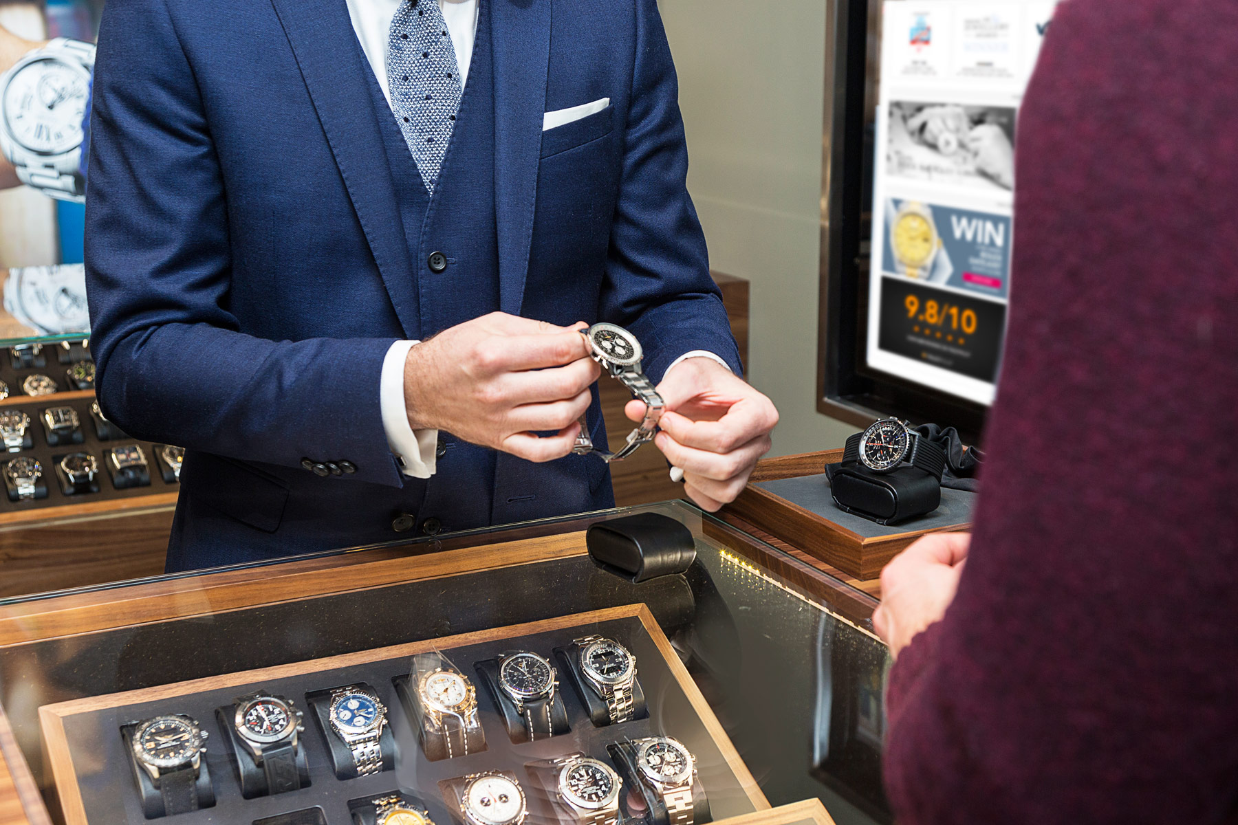 Watchfinder Opens Store In Canary Wharf With Support From HSBC 3