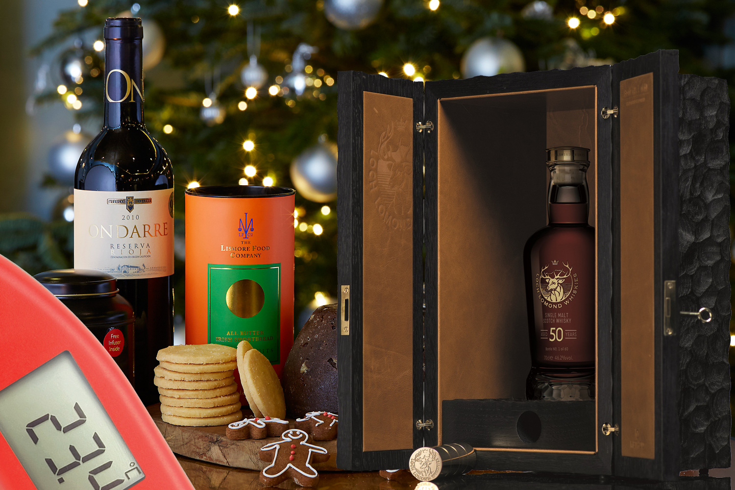 Christmas Gift Guide 2018: Luxury Food & Drink