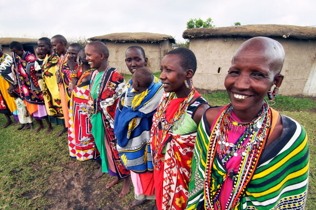 Maasai tribespeople we met during our stay at the Fairmont Mara Safari Club