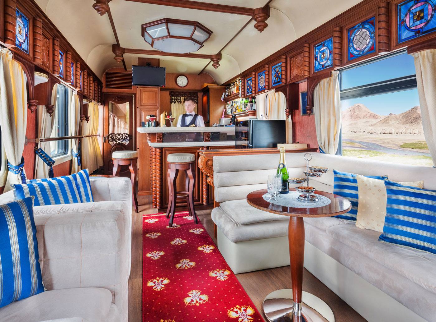 The Romanov Suite - An Entire Private Carriage Aboard the Golden Eagle Train 14