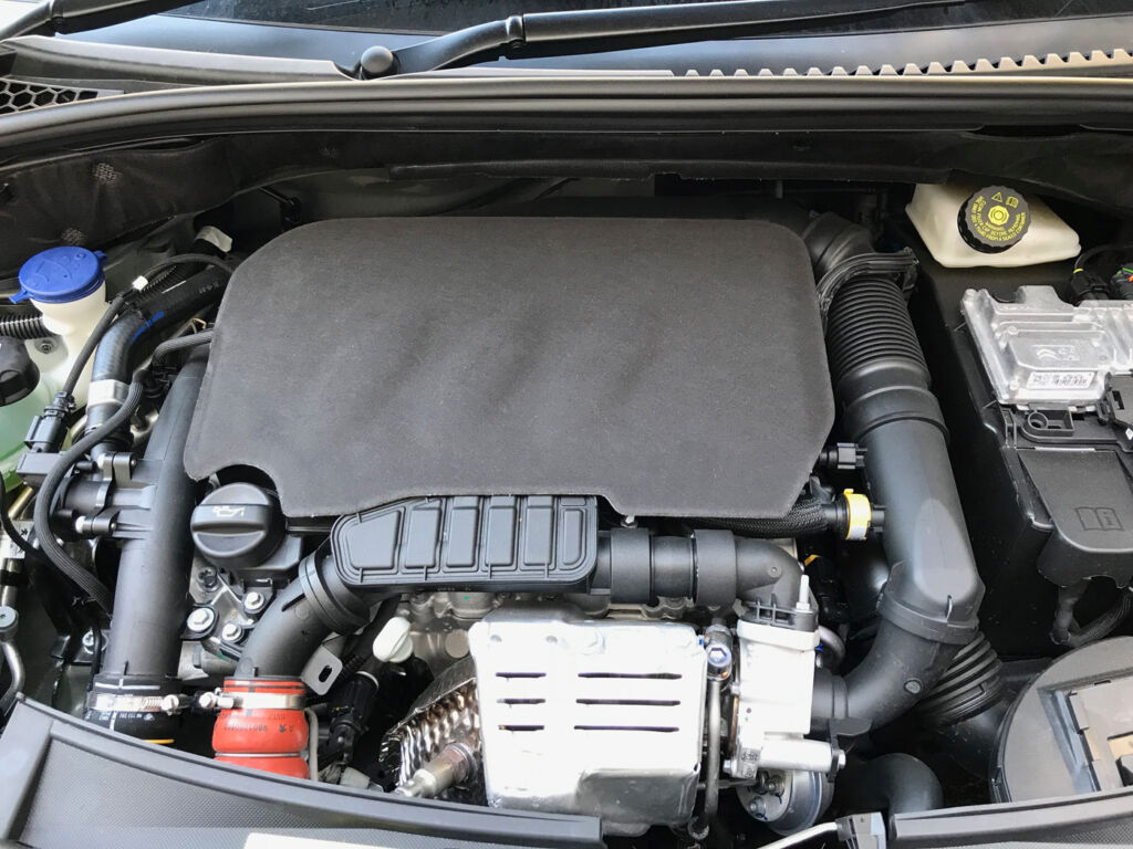 The turbo-charged, fuel injection 1199-litre engine