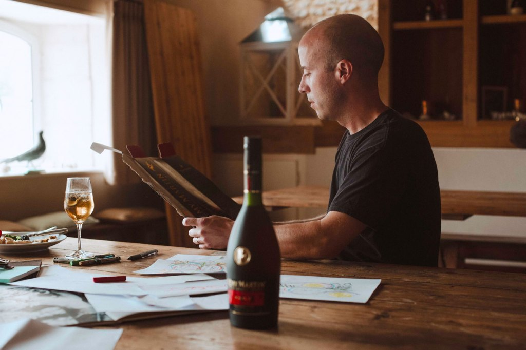 Remy Martin And Matt W Moore Modern Create Art Inside And Outside The Bottle
