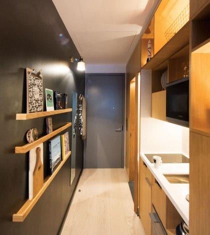 Kitchen at Wilde Aparthotels by Staycity