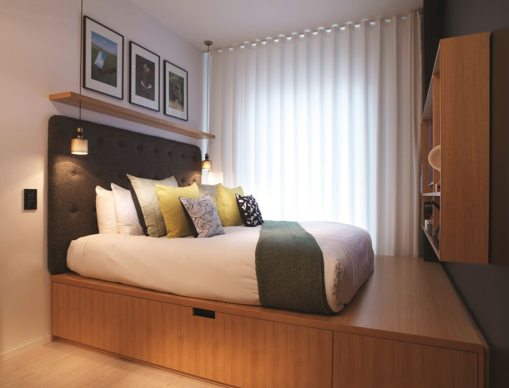 The sleeping accommodation at Wilde Aparthotels by Staycity is more than adequate
