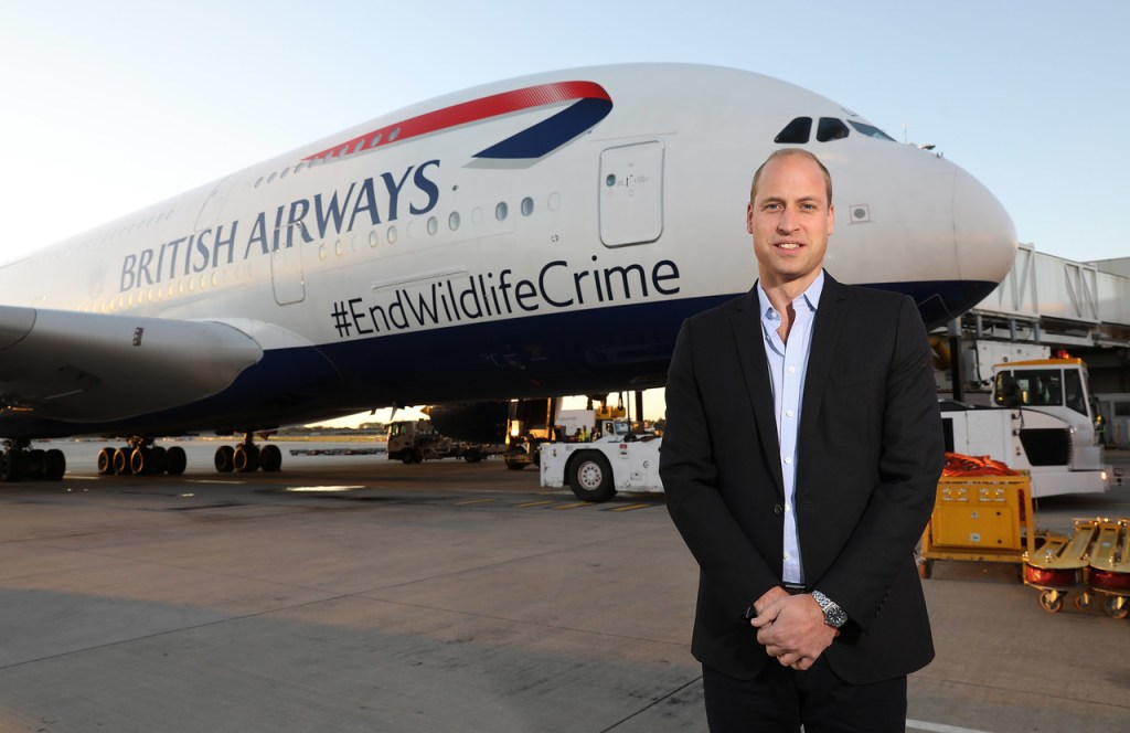 HRH The Duke Of Cambridge Heads To Africa To Tackle Illegal Wildlife Crime