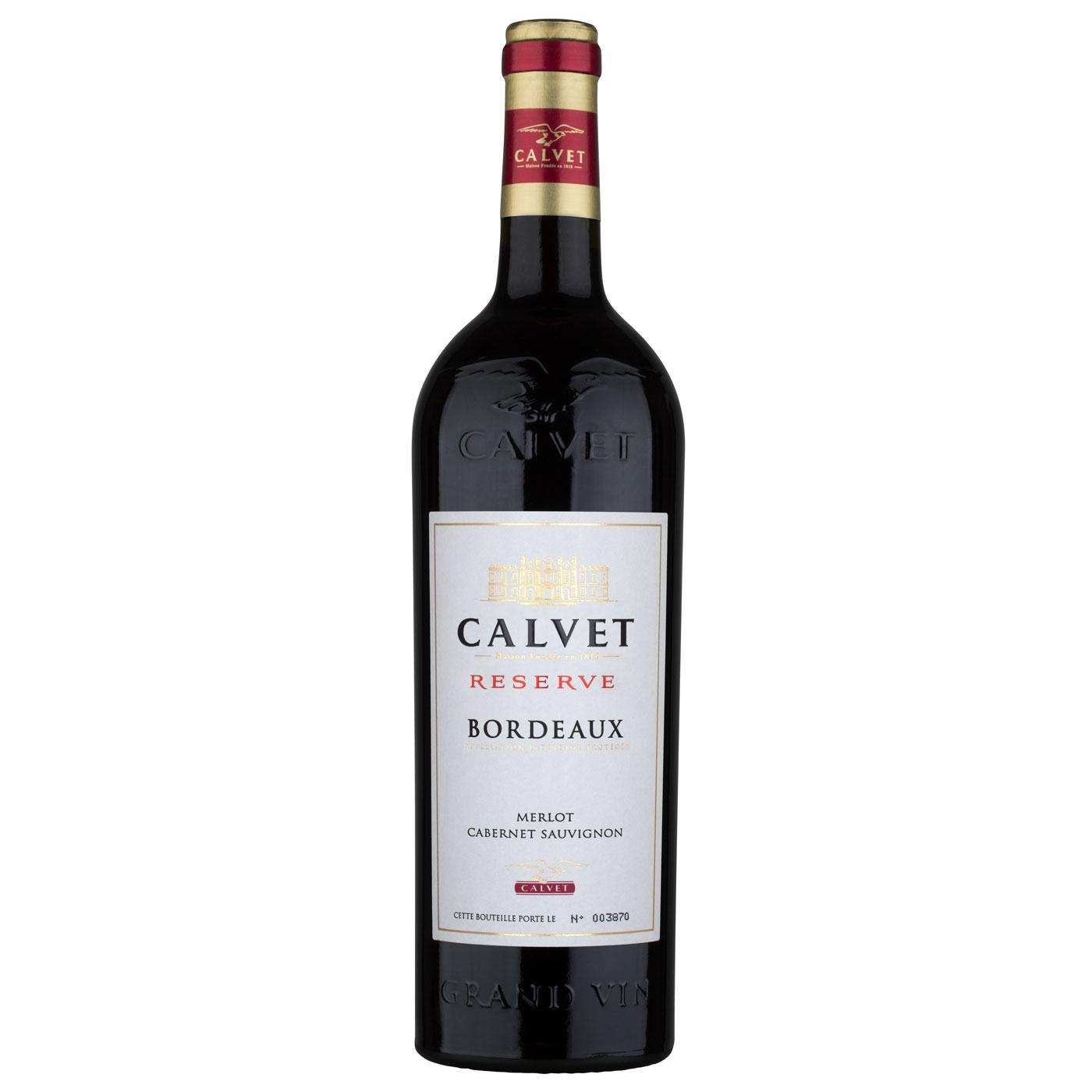 Calvet Reserve, Merlot Cabernet Sauvignon, Bordeaux,2016