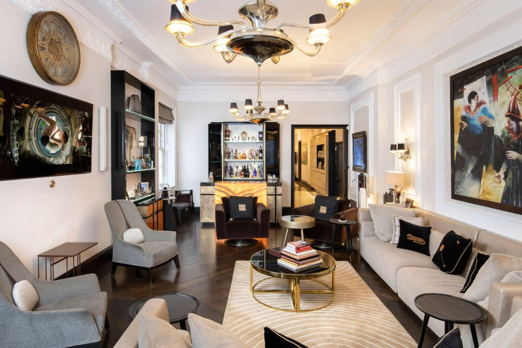 Douglas Fairbanks Jr's former Mayfair residence to let at 99 Park Lane 8