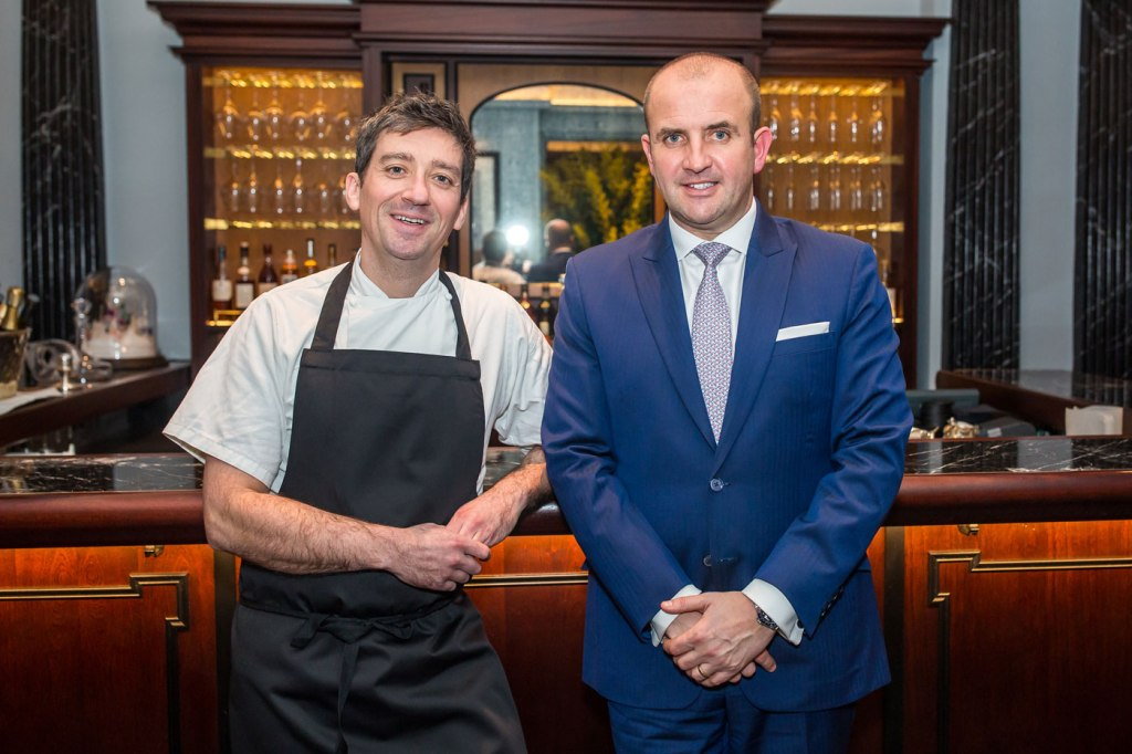 Culinary Director Ben Tish and The Stafford London's General Manager, Stuart Procter.