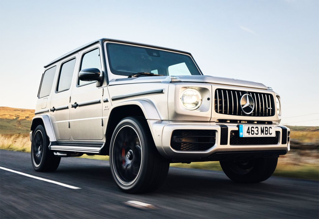 The Mercedes-AMG G 63