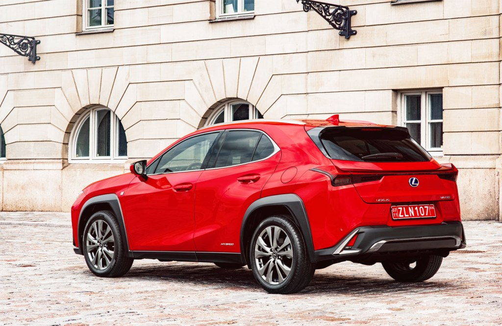 First Drive In Barcelona: The New Lexus UX Compact SUV 6