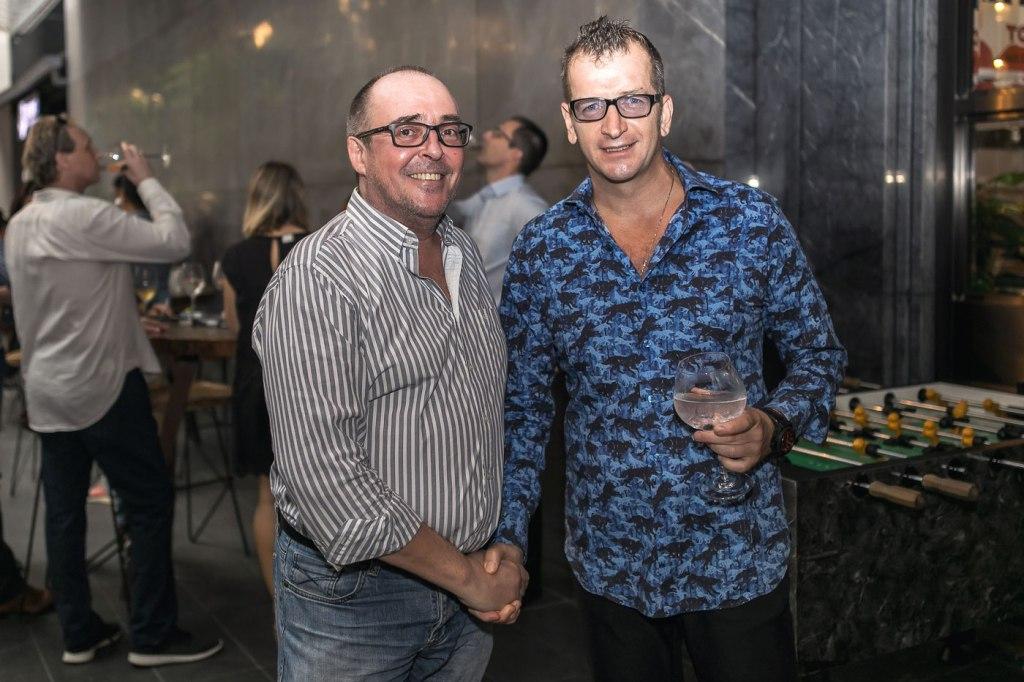 Modesto Marini and Guy Rayment