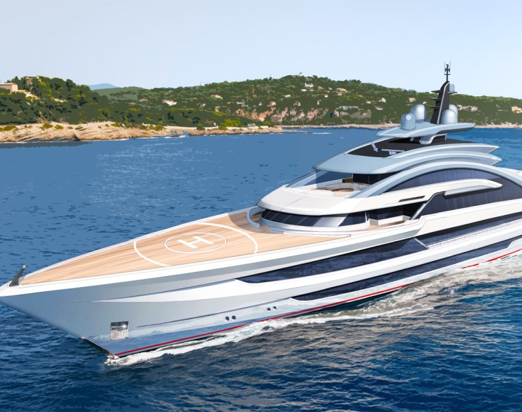 A Glimpse Into The Universe Of Heesen Yachts' Project Cosmos 14
