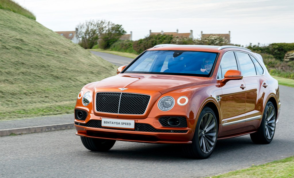 Bentley's All-New Flying Spur at Crewe and the Bentayga Speed at the Anglesey Circuit 3