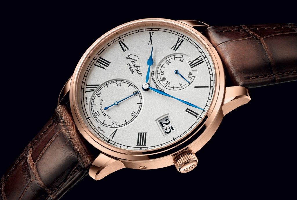 The Glashütte Senator Chronometer: A bridge from one era to another.