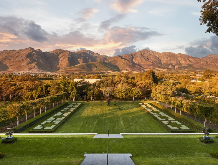 South Africa's Leeu Estates is Awarded Coveted 5-Star Premium Status