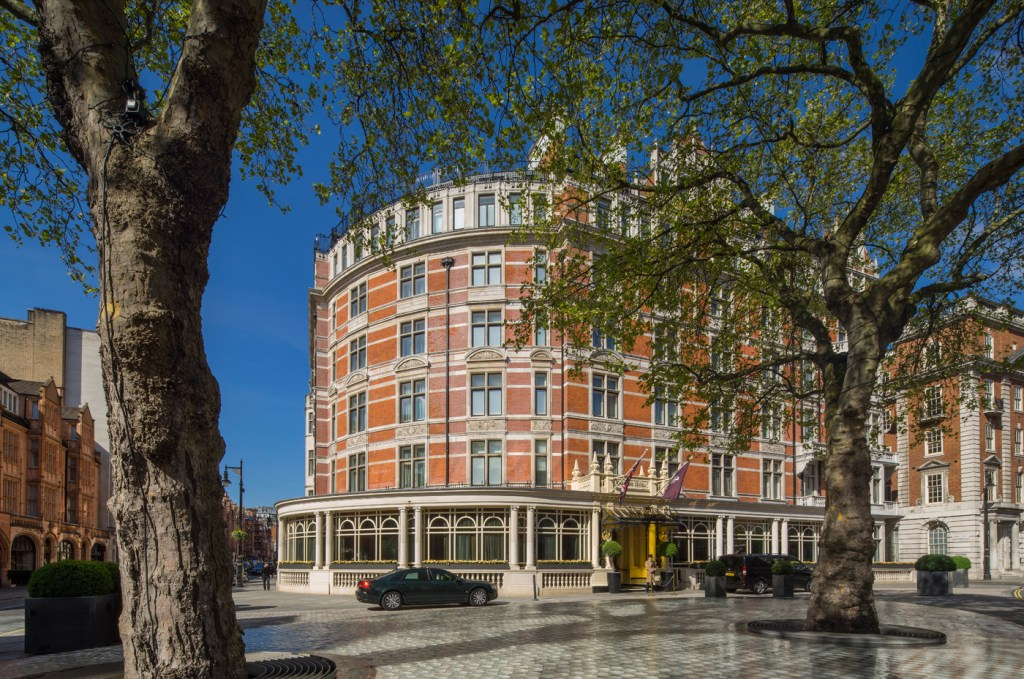 The Connaught hotel in Mayfair.