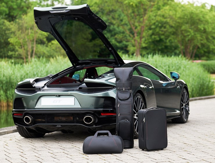 McLaren's New Four-Piece GT Luggage Set Might or Might Not Be Your Bag