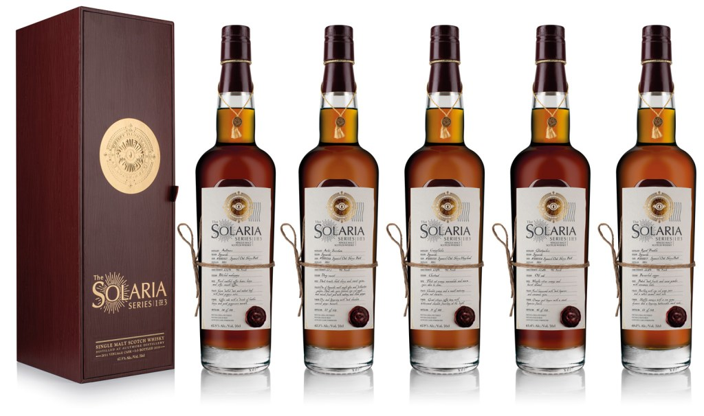 Whisky Illuminati Follows up Candlelight with First-Of-Its-Kind Solaria Series