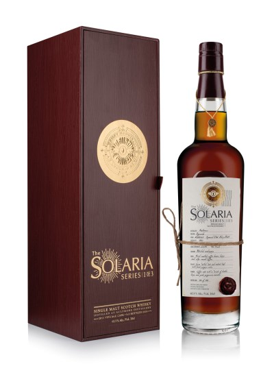 Whisky Illuminati Follows up Candlelight with First-Of-Its-Kind Solaria Series 3