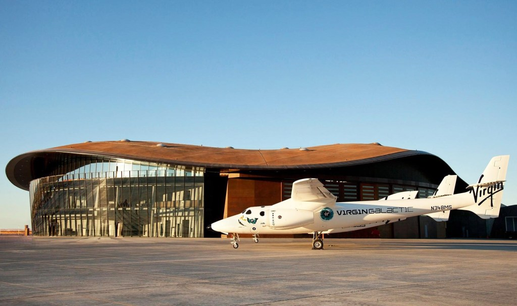 Spaceport America Opens its Hangar Doors for the First Time