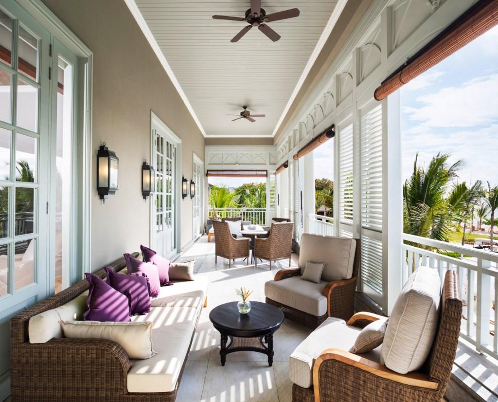 St Regis Mauritius Grand Manor House Suite Terrace.